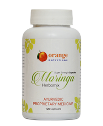 Moringa Herbomix, 120 Capsules